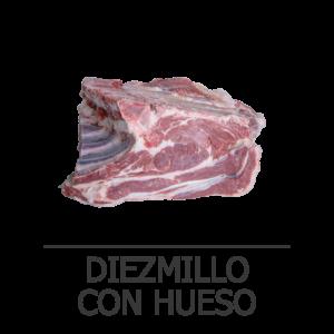 DIEZMILLO CON HUESO